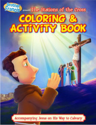 [Brother Francis Coloring Books] The Stations of the Cross: Coloring Book