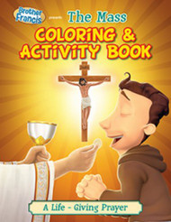 [Brother Francis Coloring Books] The Mass: Coloring Book