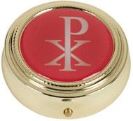 Chi Rho Pyx with Epoxy Lid: Pack of 3