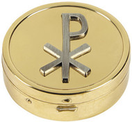 Chi Rho Empossed Pyx: Pack of 3