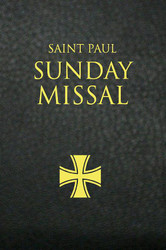Saint Paul Sunday Missal (Imitation Leather): Black Leatherflex