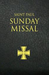 Saint Paul Sunday Missal (Imitation Leather): Black Leatherflex