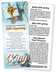 Gift Opening Litany Handouts: Pack of 50