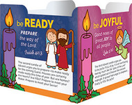 Advent Table Tent (Card Stock)