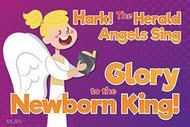 Glory to the Newborn King Christmas Magnet (Magnet): Pack of 25