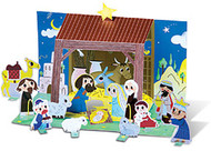 My Very Own Manger Scene (Card Stock): Activity Sheet