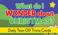 What Do I Wonder About Christmas Tear-Off Trivia Card Pack: Christmas Trivia