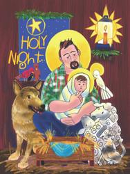 Holy Night: Set of 10 Christmas Cards