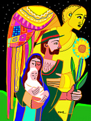 Flight To Egypt: Set of 10 Christmas Cards