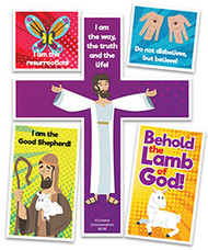 Behold the Lamb of God Puzzle Magnet (Magnet)