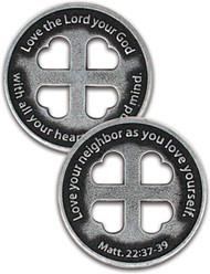 Greatest Commandment Coin