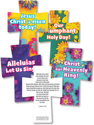 Floral Colors Easter Crosses