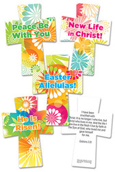 Floral Burst Easter Crosses
