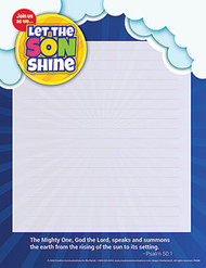 [Summer Event - Let the SON Shine] Summer Parish Event Tri-Fold Mailer: Let the SON Shine - Pack of 50