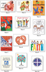 [12 Years of Baptismal Anniversary Cards] 12 Years Of Baptismal Anniversary Cards (Cards)