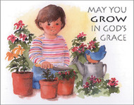 [12 Years of Baptismal Anniversary Cards] Baptismal Anniversary Cards (Cards): Year 2 - May You Grow in God's Grace