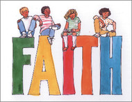 [12 Years of Baptismal Anniversary Cards] Baptismal Anniversary Cards (Cards): Year 9 - Faith