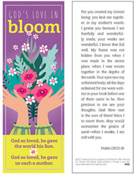 Mother's Day Bookmark (Bookmark): God's Love in Bloom - Pack of 25