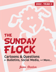 The Sunday Flock 2022 (eResource): Cartoons & questions for bulletins and social media