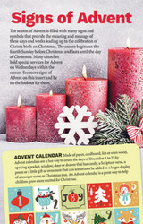 Signs of Advent Insert: Pack of 50