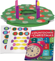 Countdown To Christmas: Sticker Book And Poster Combo