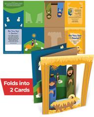 Do You See The Savior?: Christmas Card Activity Sheet