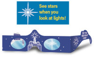 Do You See What I See? Holographic Glasses: Pack of 10