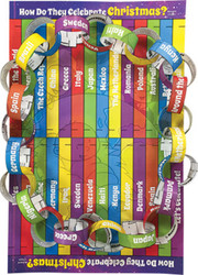 How Do They Celebrate Christmas?: Advent Chain Activity Sheet