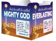 And He Will Be Called... (Card Stock): Advent Table Tent