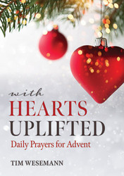 With Hearts Uplifted (Booklet): Daily Prayers for Advent for ADULTS