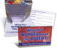 What Do I Wonder This Advent?: Tear-off Trivia Card Pack