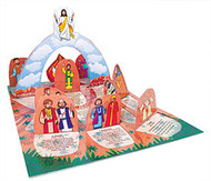 From Ascension to Pentecost: A Pop-Up Window Calendar