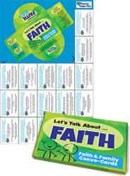 [Faith & Family Conversation Cards] Let's Talk About FAITH Conversation Cards (Card Set)
