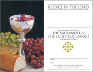 """First Eucharist Certificate: """"Rejoice in the Lord"""""""