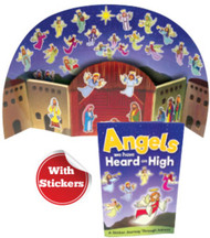 Angels We Have Heard On High: Sticker Book and Poster