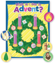 What Do I See in Advent? - Poster & Stickers: Bundle of 12