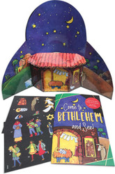 Come To Bethlehem and See: Sticker Book & Poster Combo