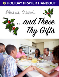 ...and These, Thy Gifts (eResource): A Holiday Table Prayer