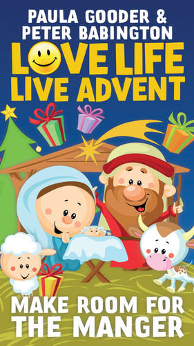 Love Life, Live Advent (Color Booklet): Make Room for the Manger - Daily Actions for Families