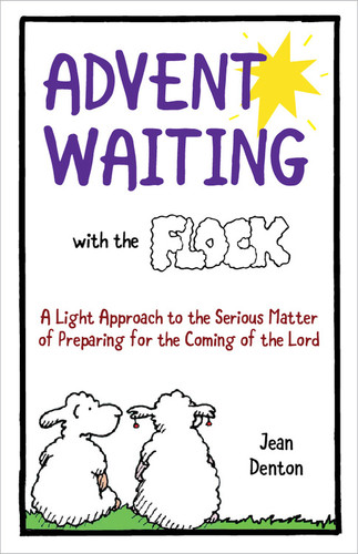 Advent Waiting with the Flock (Color Booklet): Daily cartoons, Scripture, and Reflections