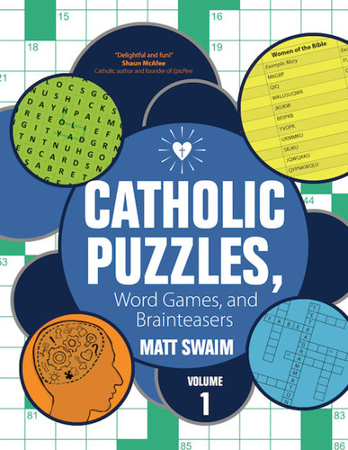 Catholic Puzzles, Word Games, and Brainteasers (Booklet): Volume 1