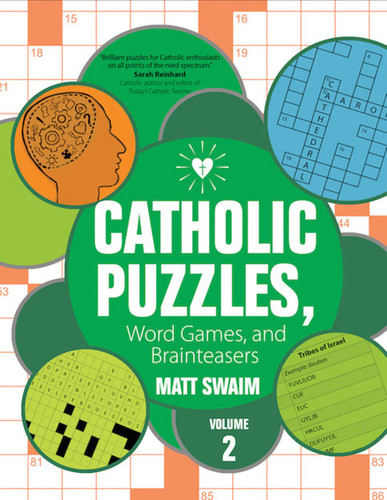 Catholic Puzzles, Word Games, and Brainteasers (Booklet): Volume 2