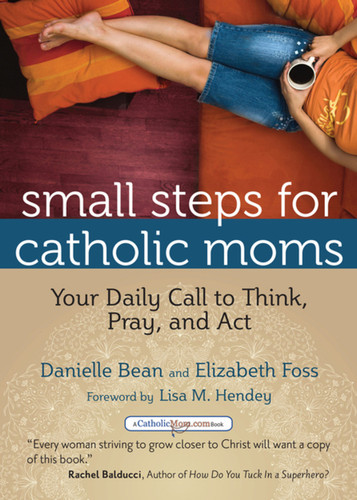 Small Steps for Catholic Moms: Your Daily Call to Think, Pray, and Act