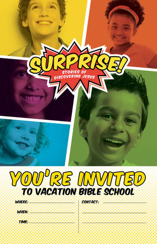 [Surprise! VBS] Invitation Poster (Poster)