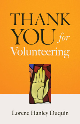 Thank You for Volunteering (Booklet)