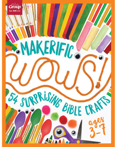 [WOWs series] Makerific WOWS! Ages 3-7: 54 Surprising Bible Crafts