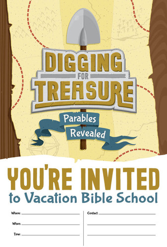 [Digging for Treasure VBS Theme] Invitation Poster (Poster)