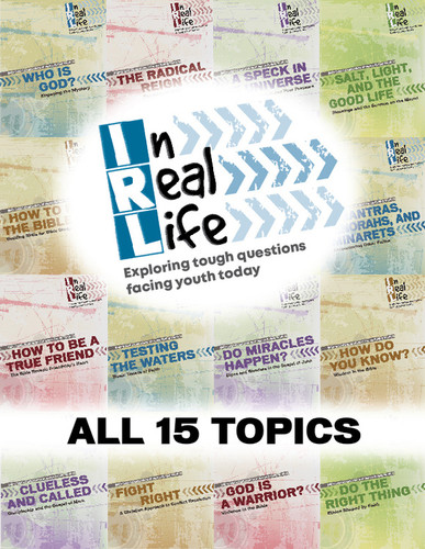 [In Real Life Books] In Real Life Series - All 15 Topics (Paperback + eResource): Sessions Exploring Tough Questions Facing Youth Today