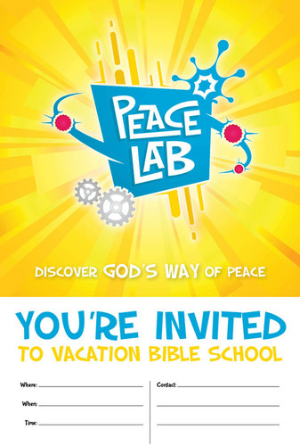 [Peace Lab VBS Theme] Invitation Poster (Poster)