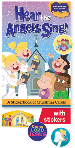 Hear The Angels Sing Stickerbook (Booklet): A Sticker Book of Christmas Carols
